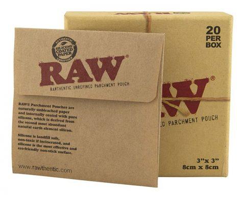 RAW Parchment Pouches